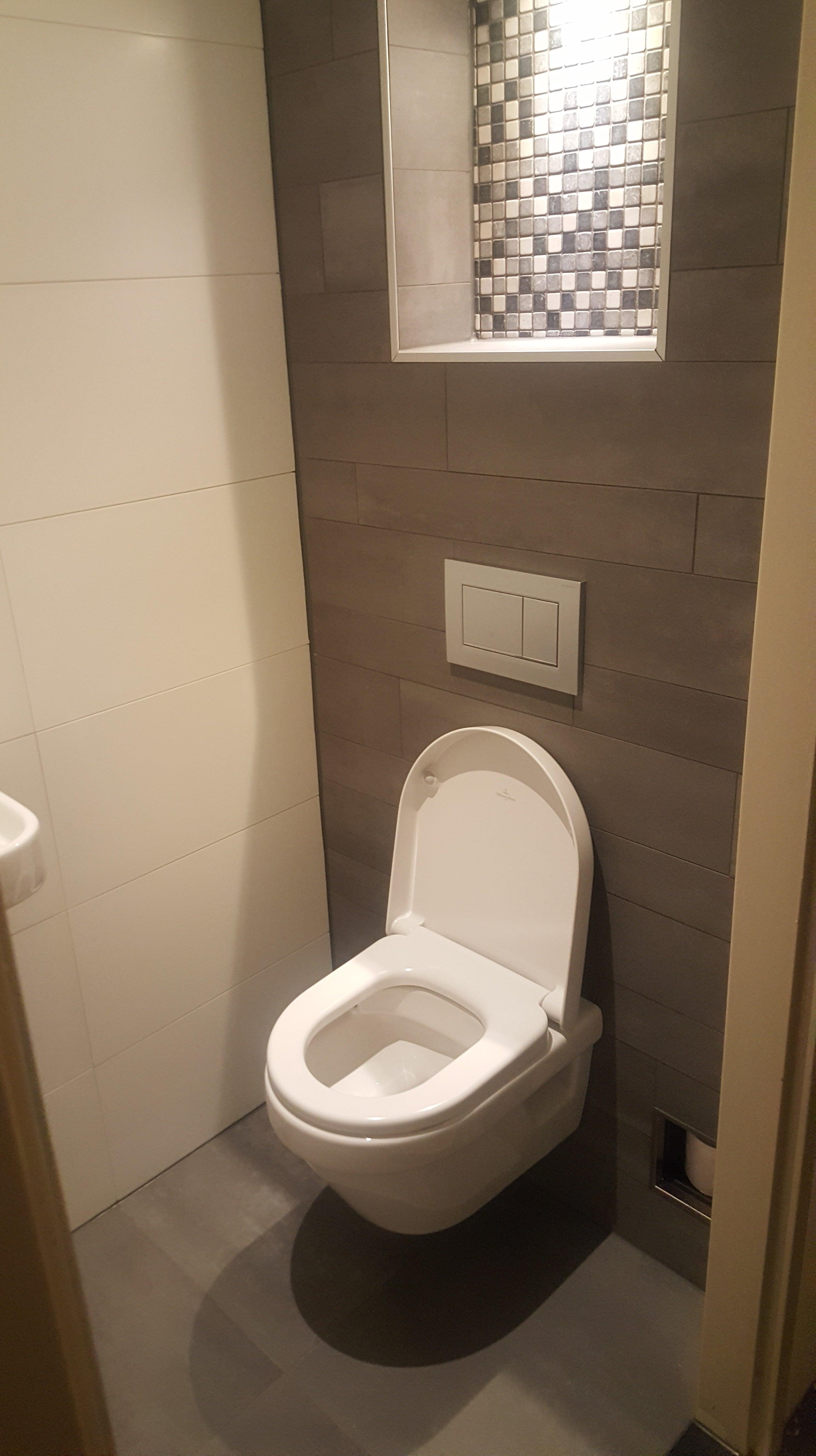 Inbouw toilet